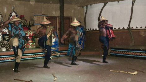 South Sotho tribal dance in South Africa